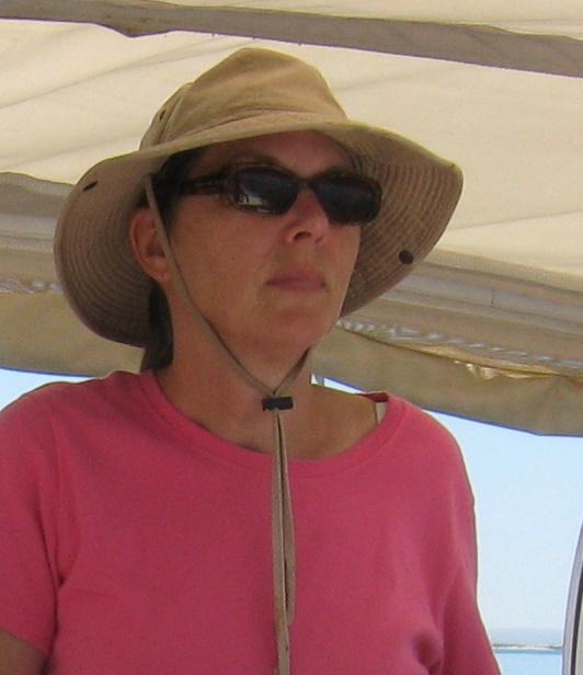 At Sea Venture's Helm